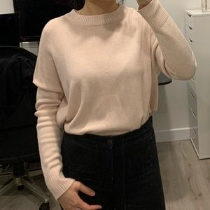 H&M Sweater in pink sand (S)